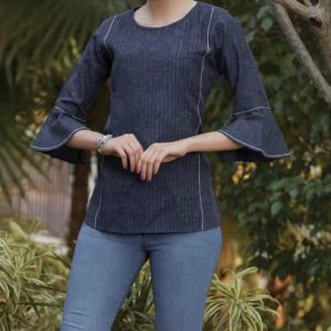 French Navy Blouse 1.001