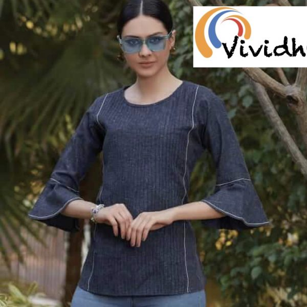 French Navy Blouse 2.001