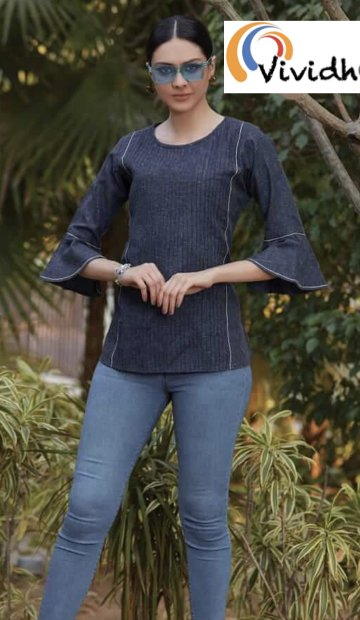 French Navy Blouse 3.001