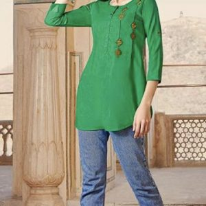 Jade Green Blouse 1.001