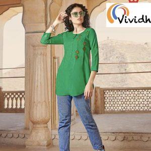 Jade Green Blouse 3.001
