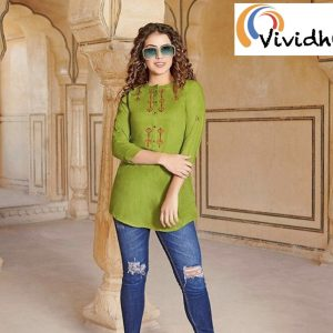 Lime Green Blouse 1.001
