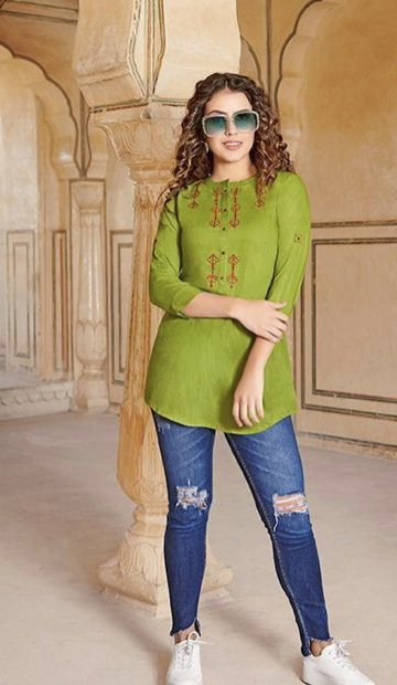Lime Green Blouse 3.001