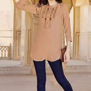 Tortilla Brown Blouse 1.001