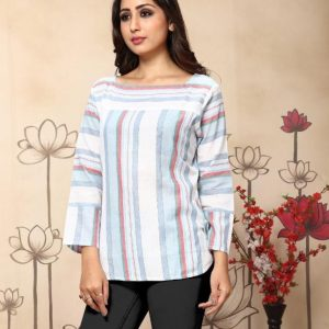 Weaving stripes Cotton light stripe Main